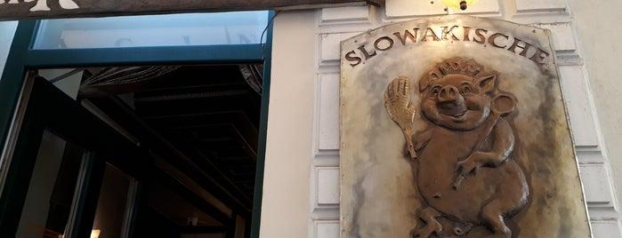 Slovenská reštaurácia is one of Gidilen & Beğenilen.