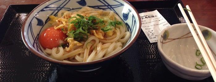 丸亀製麺 中津川店 is one of うどん 行きたい.
