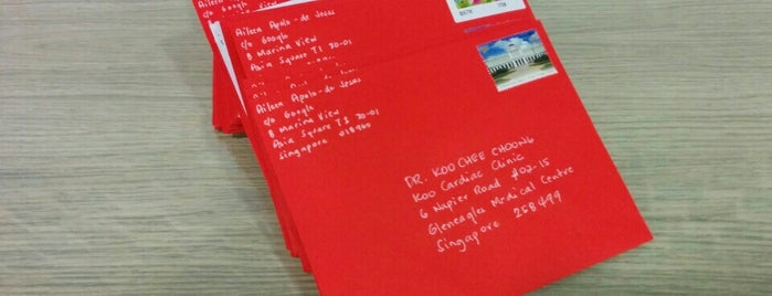 Singapore Post is one of Every Place I Went~.