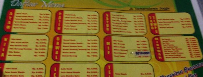 warung giyok is one of Must-visit Food in Yogyakarta.