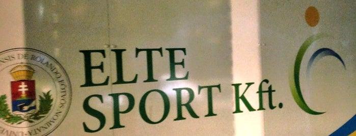 ELTE Sporttelep is one of ha már haza nem járok, akkor ide....