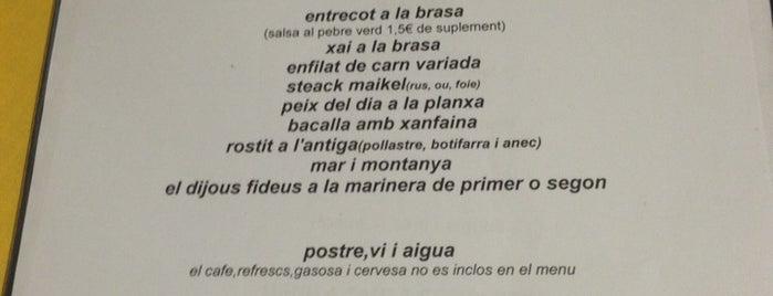 Els Fogons De Can Maikel is one of Llocs per menjar.