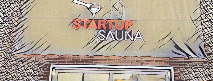 Startup Sauna is one of Helsinki.