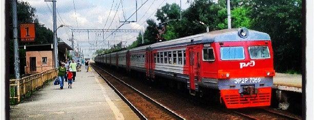 Платформа Дегунино is one of Частые.