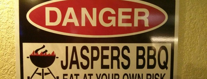 Jaspers Smokehouse and Steaks is one of Best Eats.