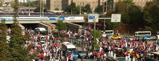 Tandoğan Meydanı is one of themaraton.