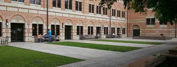 Rice University - Jones School Auditorium is one of Sounds Great!.