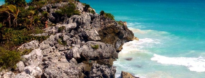 Zona Arqueológica de Tulum is one of Explore the Mayan Paradise: Cancún #4sqCities.