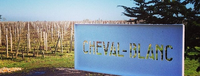 Château Cheval Blanc is one of Mayor au moins une fois.