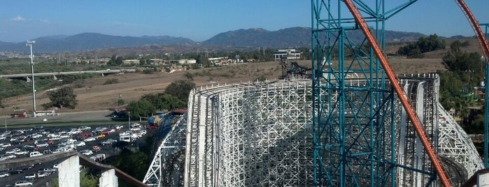 Colossus is one of Six Flags Magic Mountain Roller Coasters.