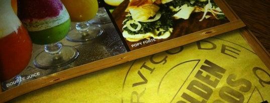 Golden Sucos is one of Foodporn: Rio de Janeiro.
