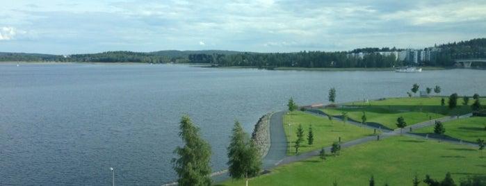Lutakon satama is one of Running in Jyväskylä.