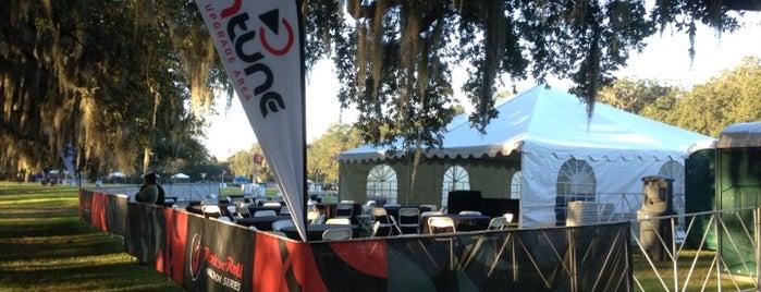 InTune Elite Finish Area is one of Rock n Roll Savannah Marathon and Half Marathon.