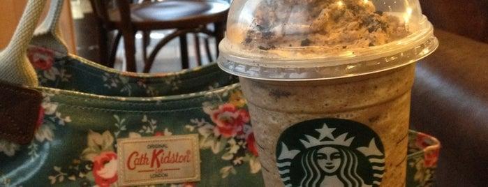 Starbucks is one of Baton Rouge.