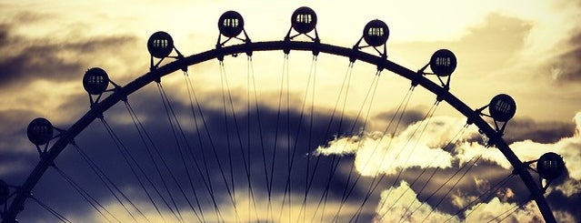 High Roller Observation Wheel is one of The 15 Best Places for Sunsets in Las Vegas.