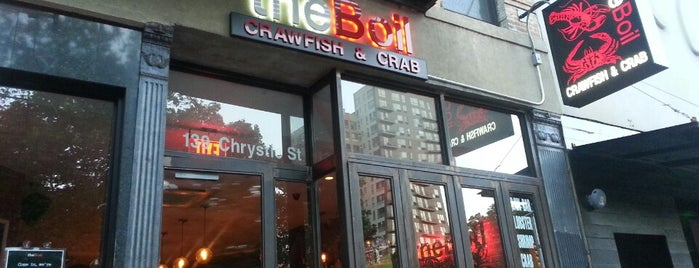 The Boil is one of manhattan restaurants.