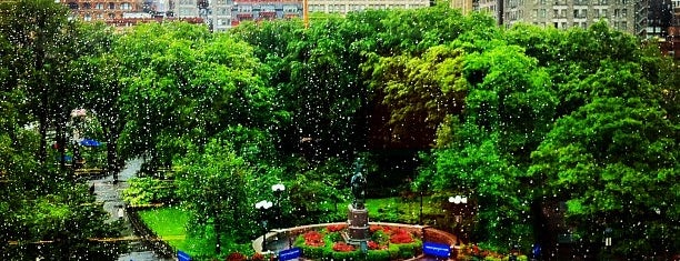 Union Square Park is one of Union Square NYC.