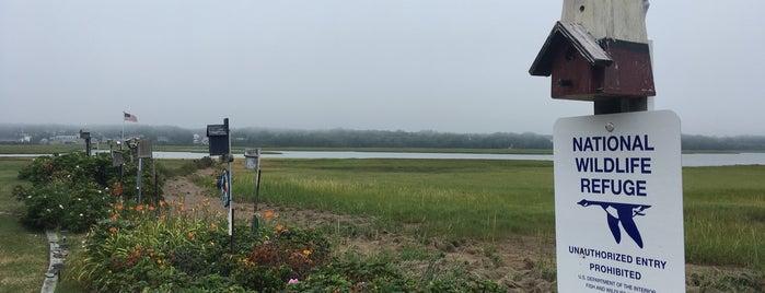 Rachel Carson National Wildlife Refuge is one of Maine & New Hampshire.
