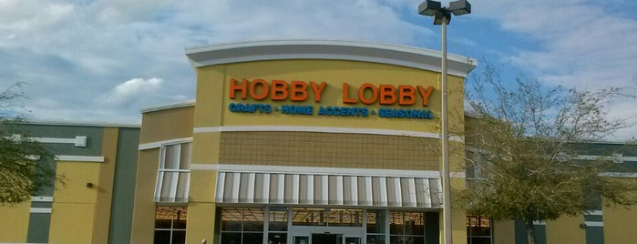 Hobby Lobby is one of Frequent Check In's.