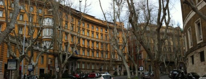 Via Vittorio Veneto is one of La Dolce Vita - Roma #4sqcities.