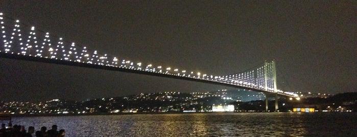 Ortaköy Sahili is one of İstanbul.