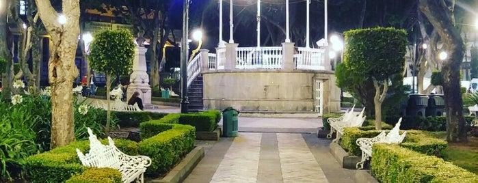 Centro Histórico de Tlalpan is one of Top picks for Plazas.