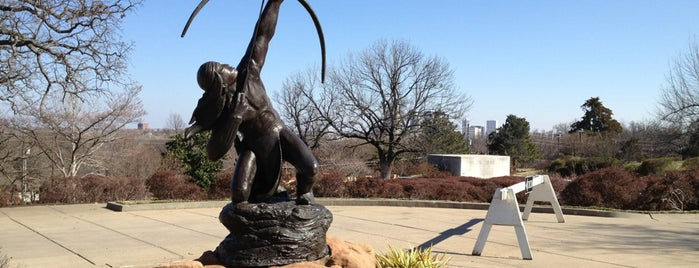 Gilcrease Museum is one of Tulsa.