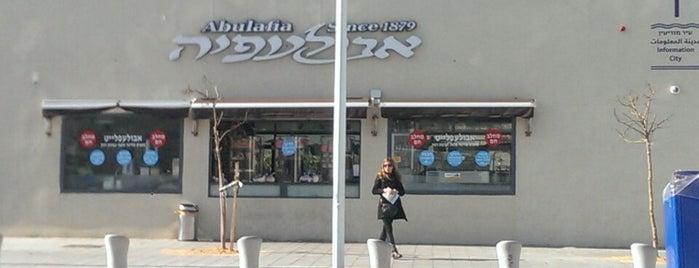 Abulafia is one of Tel Aviv.