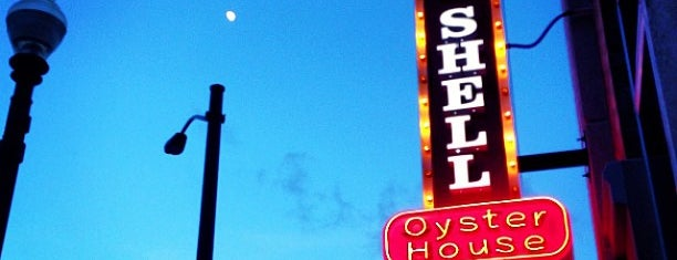 Half Shell Oyster House is one of Eateries Bon Apetit!.
