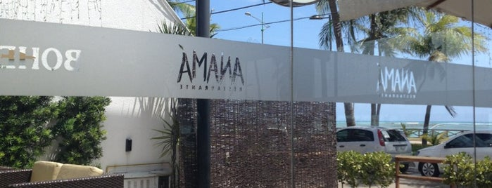 Anamá Restaurante is one of Maceió.