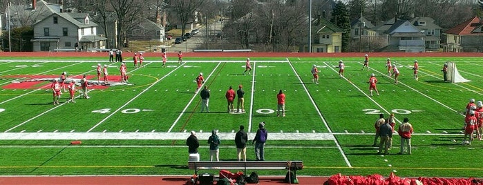Edwards-Maurer Field & Earl F. Morris Track is one of Wittenberg Athletics Facilities.
