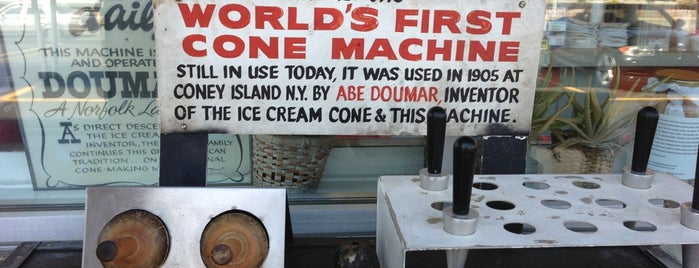 Doumar's Cones & Barbecue is one of Restaurant To Do List.