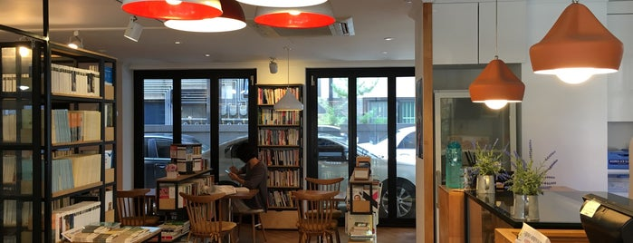 Book cafe 'The Story' is one of Seoul_Quietness.