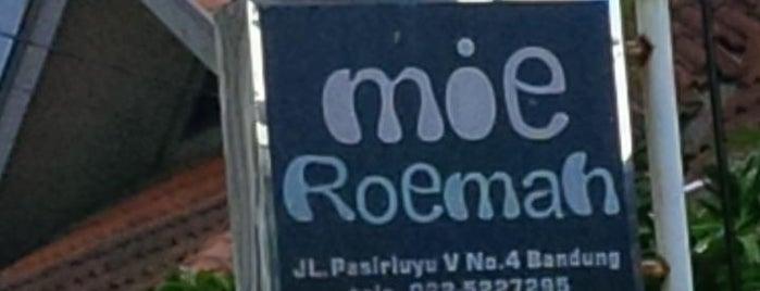 Mie Roemah is one of Kuliner bandung.