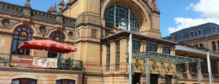 Schwerin Hauptbahnhof is one of Bahnhöfe Deutschland.