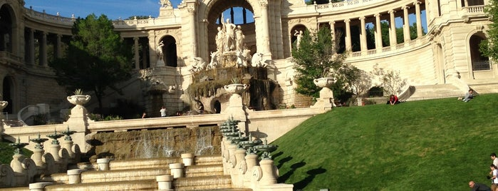Palais Longchamp is one of Outdoors.