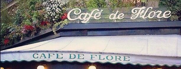 Café de Flore is one of Europe.