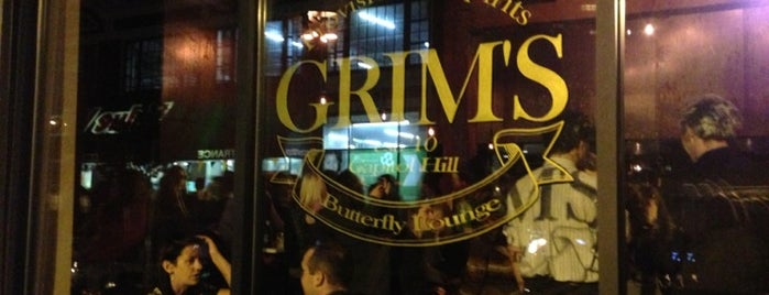 Grim's Provisions & Spirits is one of Epicurious!.