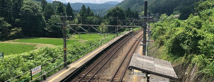 田立駅 is one of 中央線(名古屋口).