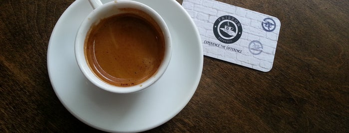 Frisson Espresso is one of NYC Coffee.