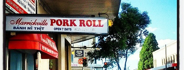 Marrickville Pork Roll is one of Inner West Best Food and Drink locations.