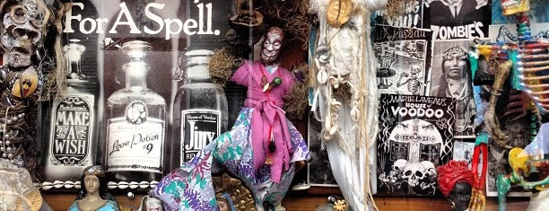 Reverend Zombie's Voodoo Shop is one of New Orleans.