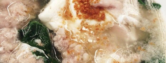 馬魯里豬肉粉 (Maluri Noodle House) is one of KL Cheap Eats.