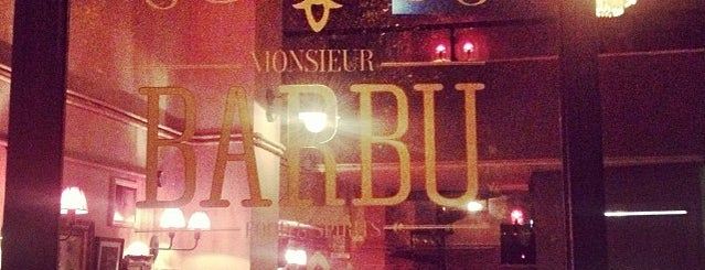 Monsieur Barbu is one of Athens Approved.