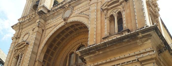 Stella Maris Church is one of Malta.