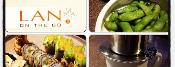 Lan Pan Asian Cafe is one of My favorite restaurants in Miami.