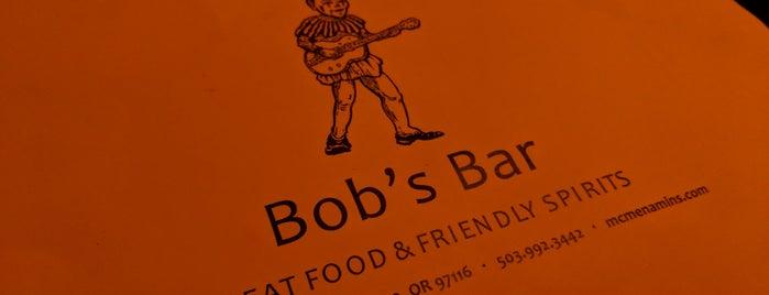 Bob's Bar - Grand Lodge is one of McMenamin's.