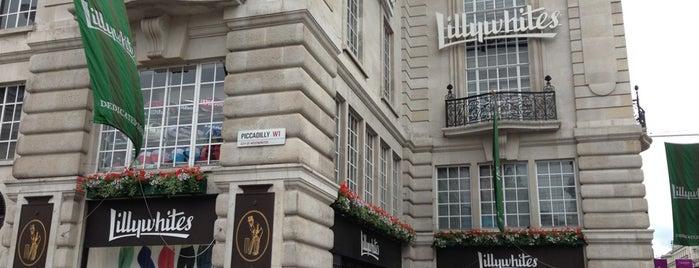 Great shops in London