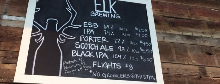 Elk Brewing Company is one of Chicagoland Breweries.