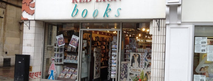 Red Lion Books is one of Guardian Recommended Independent Bookshops.